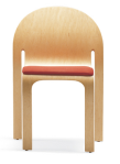 Bent-Ply Stack Chair for Seminar Space