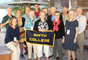 The Smith College crew – yours truly is in the red shirt at the back.